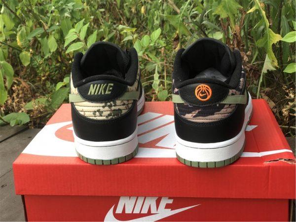 Nike Dunk Low Black Multi Camo UK For Cheap DH0957-001-3