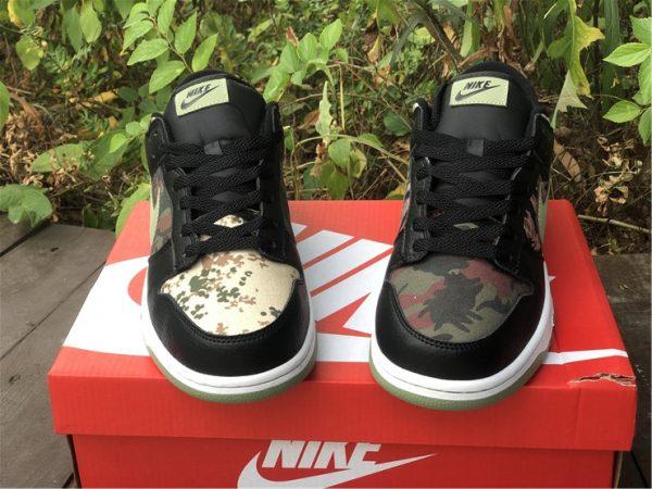 Nike Dunk Low Black Multi Camo UK For Cheap DH0957-001-4