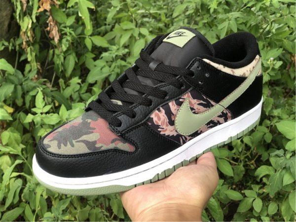 Nike Dunk Low Black Multi Camo UK For Cheap DH0957-001-5