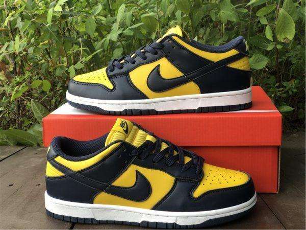 Shop Nike Dunk Low Michigan Training Shoes DD1391-700-2