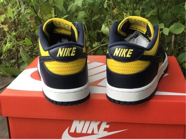 Shop Nike Dunk Low Michigan Training Shoes DD1391-700-3