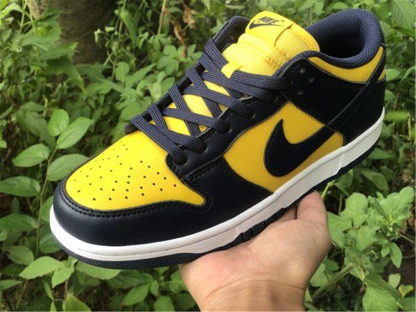 Shop Nike Dunk Low Michigan Training Shoes DD1391-700-5