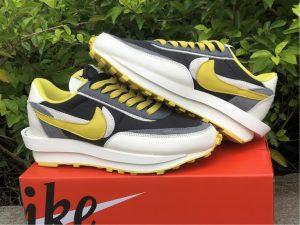 Undercover x Sacai x Nike LDWaffle Bright Citron Top Shoes DJ4877-001
