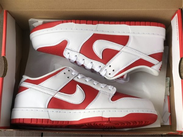 Where To Buy 2021 Nike Dunk Low University Red-1