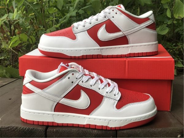 Where To Buy 2021 Nike Dunk Low University Red-2