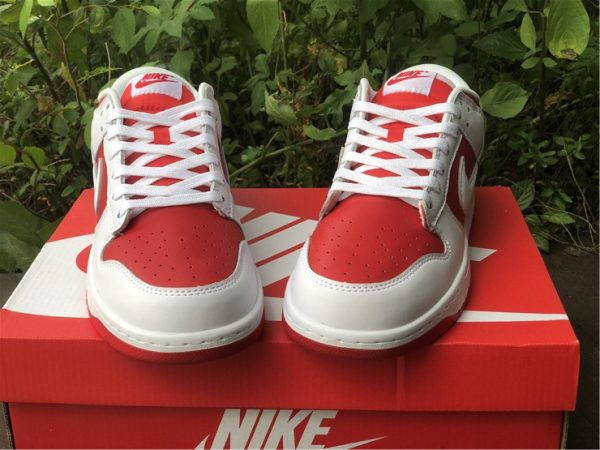 Where To Buy 2021 Nike Dunk Low University Red-4