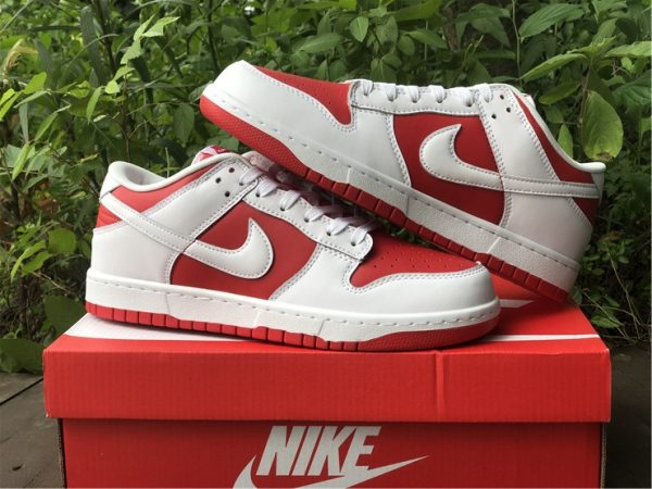 Where To Buy 2021 Nike Dunk Low University Red-6