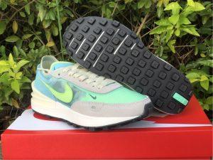 Womens Nike Waffle One Scream Green DC2533-401