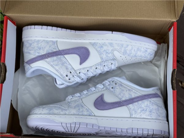 2021 New style Nike Dunk Low Purple Pulse In Box