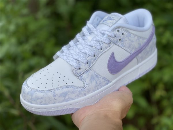 2021 New style Nike Dunk Low Purple Pulse In Hand