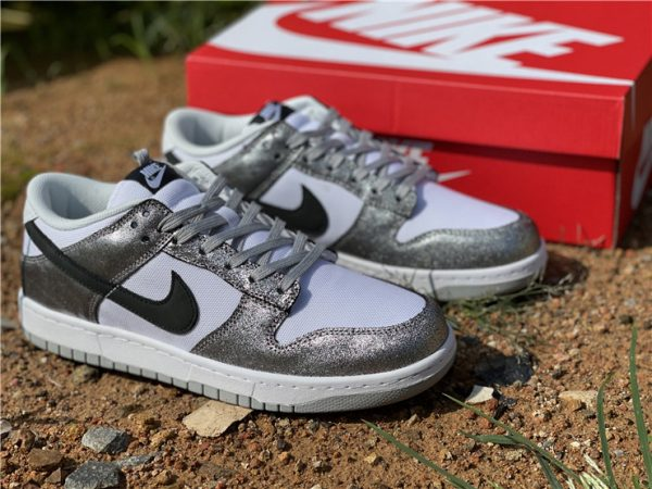 2021 Newest Nike Dunk Low Shimmer For Sale DO5882-001-1