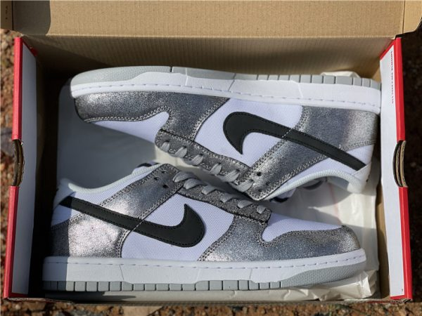 2021 Newest Nike Dunk Low Shimmer In Box