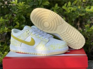 2021 Nike Dunks Low Yellow Strike For Sale DM9467-700