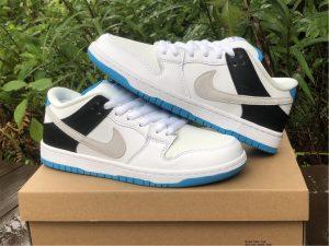 2021 Nike SB Dunk Low Laser Blue New Release BQ6817-101