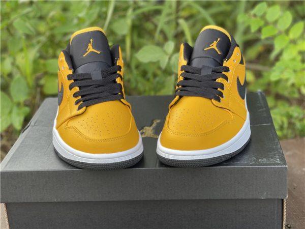 Air Jordan 1 Low University Gold Black For Sale Online 553558-700-4