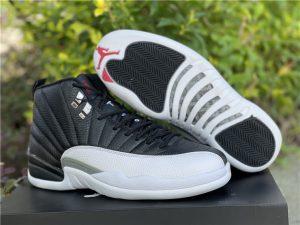 Air Jordan 12 Retro Playoff Basketball Shoes UK 130690-001