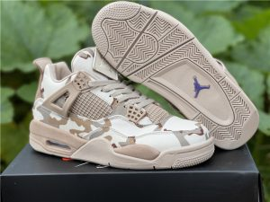 New Jordans 2022 Aleali May x Air Jordan 4 Camo DJ1193-200