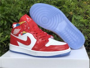 New Release Air Jordan 1 Mid Chicago Red DC7294-600