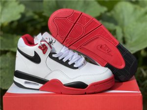 Nike Air Flight 89 Team Red Basketball Sneakers DD1173-100