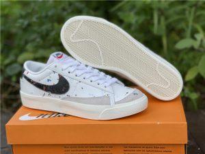 Nike Blazer Low Paint Splatter UK For Sale DJ1517-100