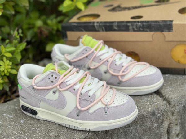 Nike Dunk Low Beige White Pink UK For Sale DJ0950-100-2