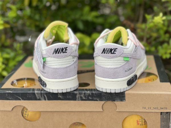 Nike Dunk Low Beige White Pink UK For Sale DJ0950-100-3
