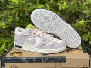 Nike Dunk Low Beige White Pink UK For Sale DJ0950-100