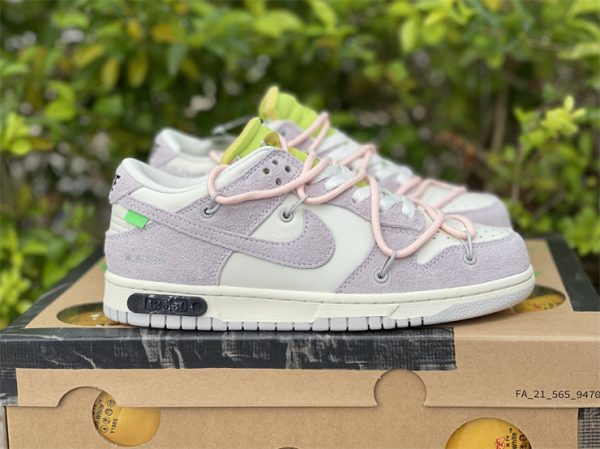 Nike Dunk Low Beige White Pink UK For Sale DJ0950-100-5