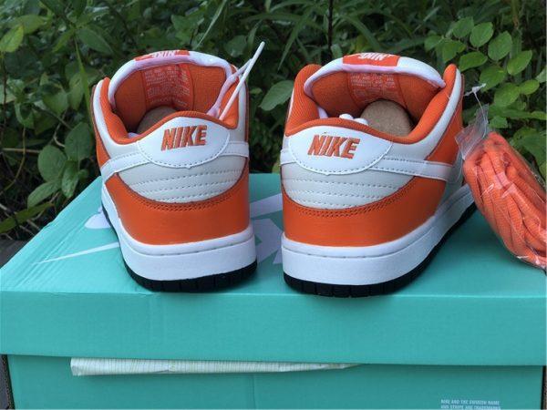 Nike SB Dunk Low Shoes White Orange Black Sale BQ6817-806-4