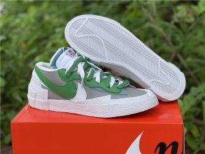 Sacai x Nike Blazer Low Classic Green UK Sneakers DD1877-001