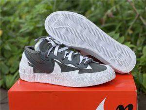 sacai x Nike Blazer Low Iron Grey Casual Shoes DD1877-002