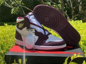 2021 Air Jordan 1 Retro High OG Bordeaux For Sale 555088-611