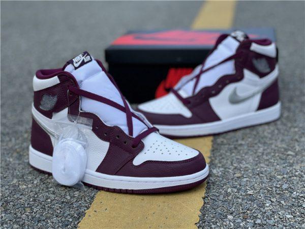 2021 Air Jordan 1 Retro High OG Bordeaux For Sale 555088-611-4