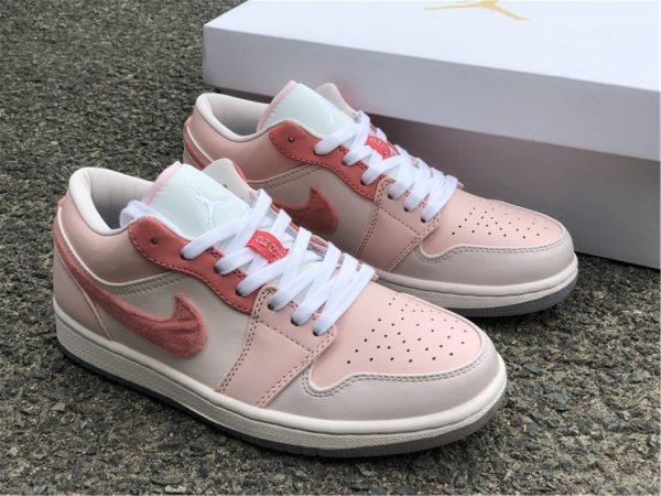2021 New Air Jordan 1 Low Valentine's Day Shoes DM5443-666-1
