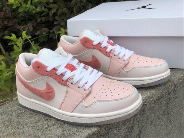 2021 New Air Jordan 1 Low Valentine's Day Shoes DM5443-666-2