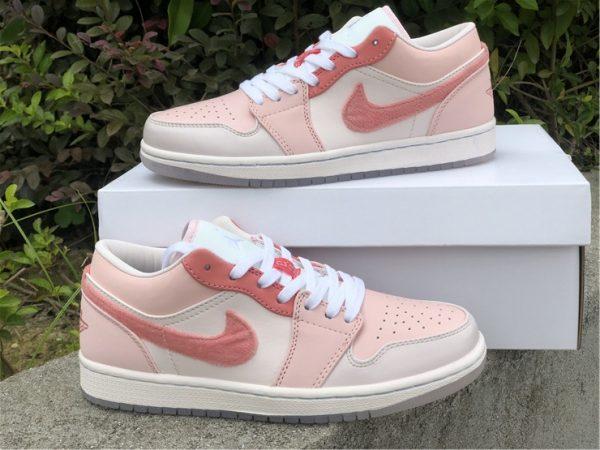 2021 New Air Jordan 1 Low Valentine's Day Shoes DM5443-666-3
