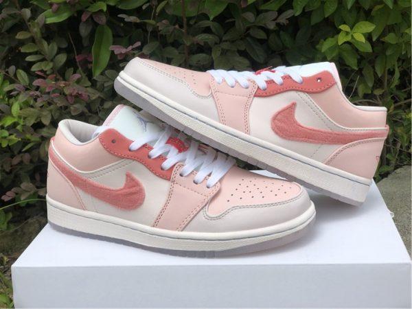 2021 New Air Jordan 1 Low Valentine's Day Shoes DM5443-666-5