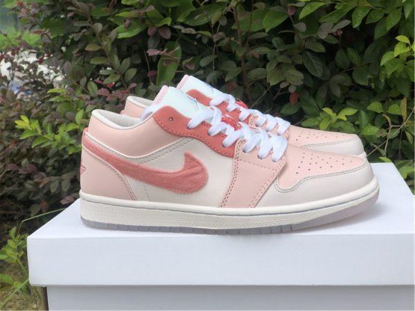 2021 New Air Jordan 1 Low Valentine's Day Shoes DM5443-666-6