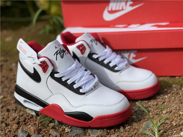 Nike Air Flight 89 Team Red Basketball Shoes BQ4212-100-1