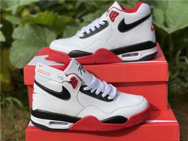 Nike Air Flight 89 Team Red Basketball Shoes BQ4212-100-2