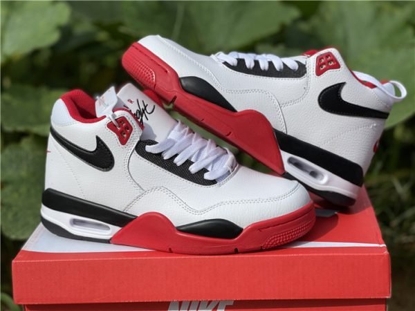 Nike Air Flight 89 Team Red Basketball Shoes BQ4212-100-4