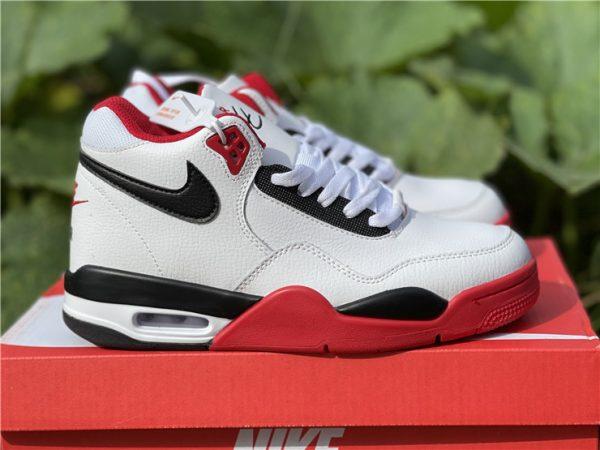 Nike Air Flight 89 Team Red Basketball Shoes BQ4212-100-5