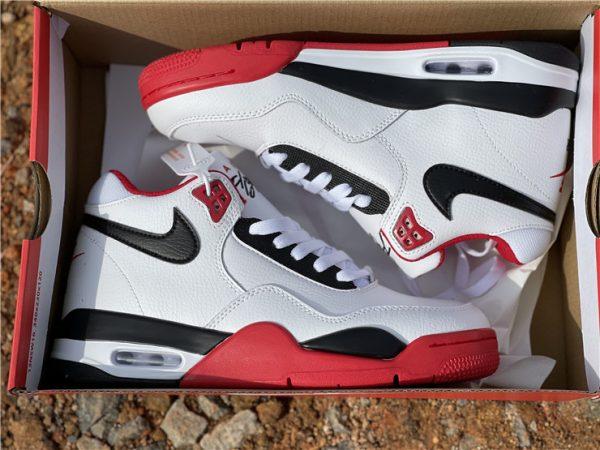 Nike Air Flight 89 Team Red Basketball Shoes BQ4212-100 In Box