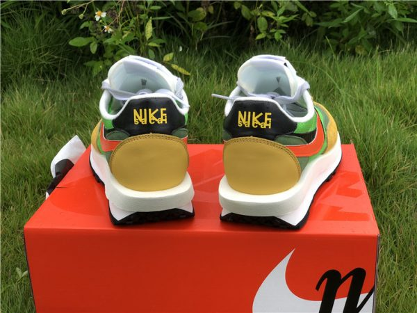 Sacai x Nike LDV Waffle Green Gusto Daybreak Green BV0073-300-2