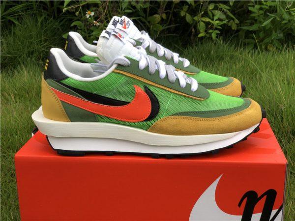 Sacai x Nike LDV Waffle Green Gusto Daybreak Green BV0073-300-4
