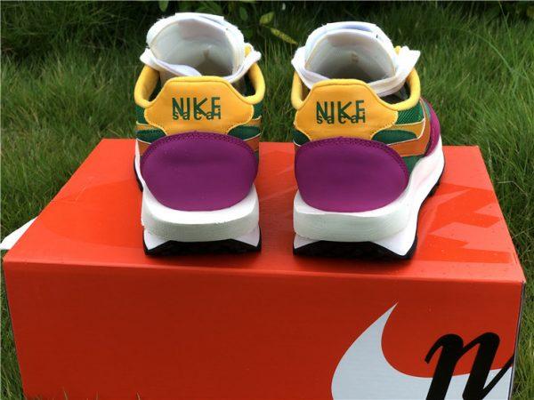 Sacai x Nike LDWaffle Pine Green UK Shoes Sale BV0073-301-2