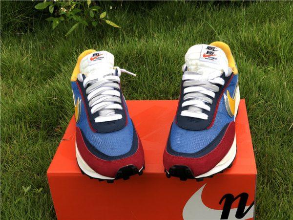 Sacai x Nike LDWaffle Varsity Blue UK Sneakers BV0073-400-2