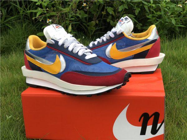 Sacai x Nike LDWaffle Varsity Blue UK Sneakers BV0073-400-3