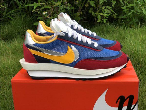 Sacai x Nike LDWaffle Varsity Blue UK Sneakers BV0073-400-4