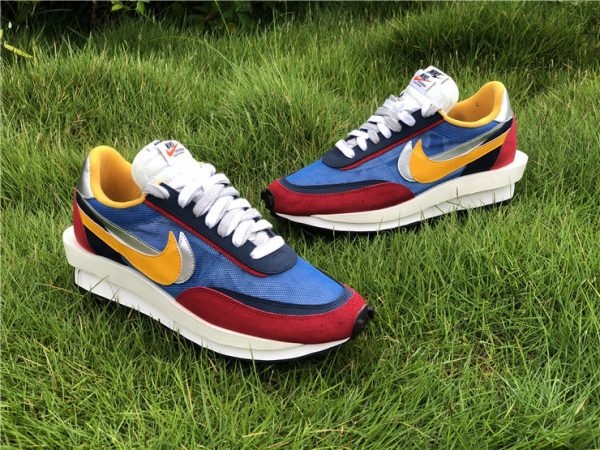 Sacai x Nike LDWaffle Varsity Blue UK Sneakers BV0073-400-5
